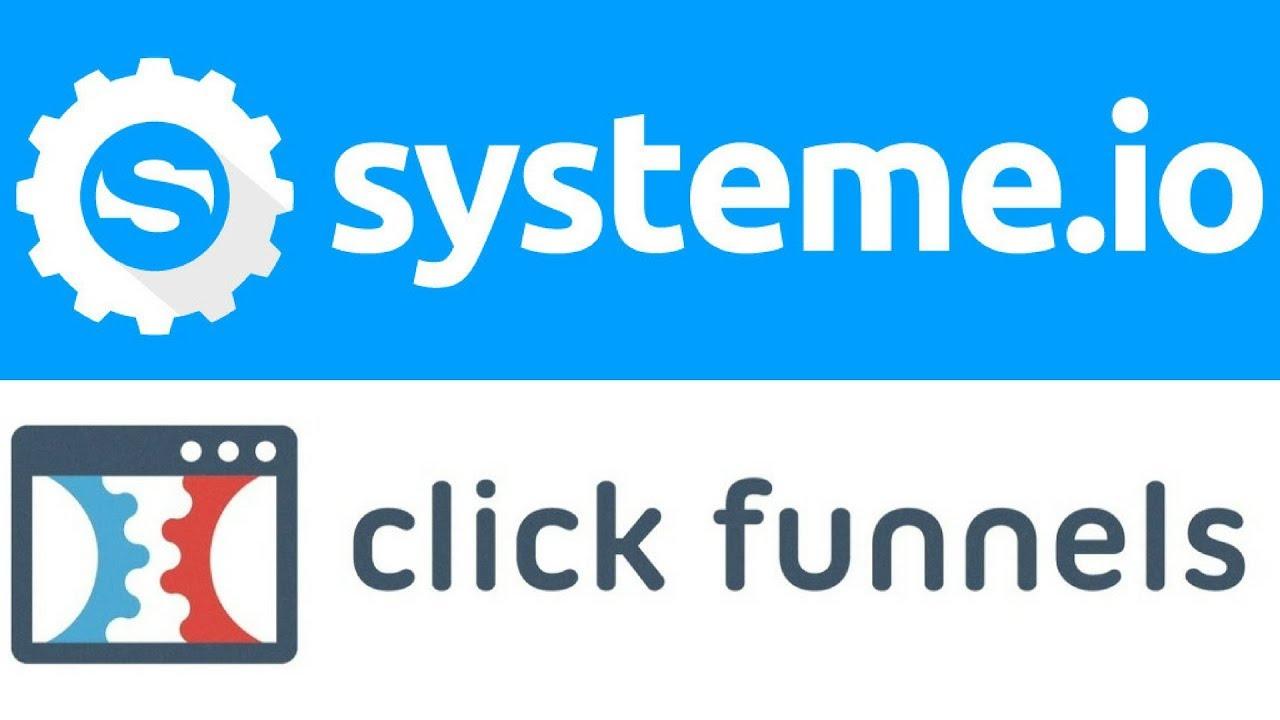 system io vs clickfunnels